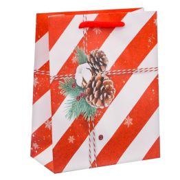Пакет ламинированный вертикальный Поздравляю!, 12 × 15 × 5,5 см
