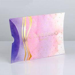 Коробка складная фигурная С Любовью для тебя, 19 × 14 × 4 см
