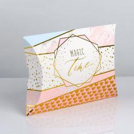 Коробка складная фигурная Magic time, 19 × 14 × 4 см