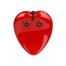 20018- Вибратор сердце красный с подзаряд.устр.