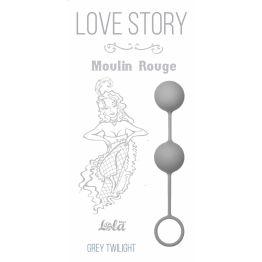 Вагинальные шарики Love Story Moulin Rouge grey 3009-02Lola