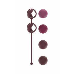 Набор Сменных Вагинальных Шариков Love Story Valkyrie Wine Red 3013-02lola