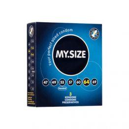 Презервативы  MY.SIZE №3 размер 64 (ширина 64mm)