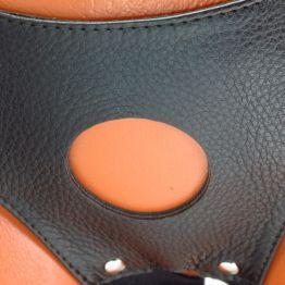 Трусики для страпона коричневые52015ars