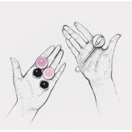 Вагинальные шарики на магнитах Fun Toys Geisha Balls Magnetiс