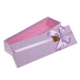 Коробка, цвет сиреневый, 29 х 9