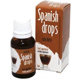 Универсальные Капли возбуждающие для двоих Spanish Drops Cola Kicks 15 мл., 11500025.3