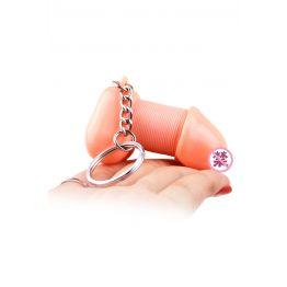 Сувенир брелок для ключей Romfun, PVC, телесный ZB-002