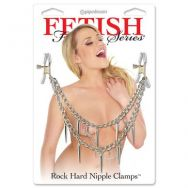 Зажимы на соски Fetish Fantasy Series Rock Hard Nipple Clamps - Silve 3624-26