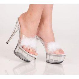 Туфли белые 39р.