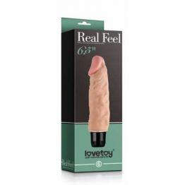 Реалистичный вибратор Lovetoy, PVC,  мультискоростной, 14 см