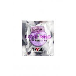 Виброкольцо TOYFA, TPE, фиолетовый 818034-4