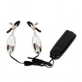 Вибратор для сосков TOYFA, ABS пластик, черный, 14,5 см