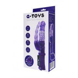 Анально-вагинальный вибратор TOYFA A-toys на присоске A-toys, 22 см 765008