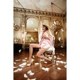 Розовое Baci Lingerie кимоно