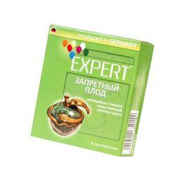 Презервативы Expert Запретный плод №3, светящийеся в темноте, золотого цвета, супер прочные, 3шт