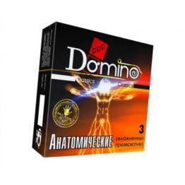 Презервативы Luxe DOMINO Classics Анатомические 18 см, 3 шт. в упаковке