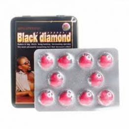 Black Diamond черный бриллиант для мужчин C-3335 цена за 1 шт.