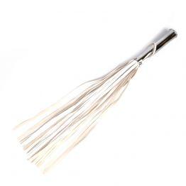ПЛЕТЬ + ВТУЛКА L рукояти 160 мм L хвоста 420 мм, L втулки 70 мм D втулки 25 мм, цвет белый арт. NTB-