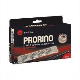 Концентрат ERO PRORINO black  line Libido для женщин, саше-пакеты 7 штук