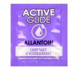 Увлажняющий интимный гель ACTIVE GLIDE ALLANTOIN, 3 г арт. LB-29006t