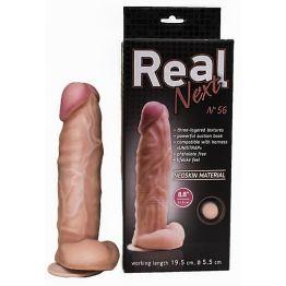 """Фаллоимитатор  на присоске 8,8"""" REAL Next №56 565603ru"""