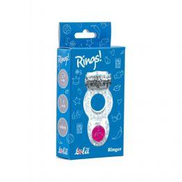 Эрекционное кольцо Rings Ringer white 0114-70Lola