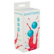 Вагинальные шарики без сцепки Emotions Lexy Large turquoise 4016-03Lola