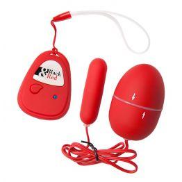 Вибронабор с пультом ДУ,5 режимов вибрации, красный 901014-9