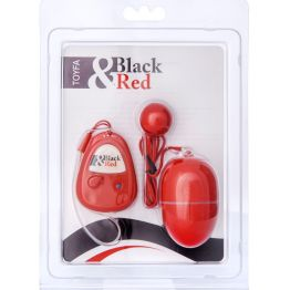 Вибронабор с пультом ДУ, 5 режимов вибрации, красный 901015-9