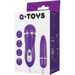 Виброяйцо TOYFA A-toys, ABS пластик, Фиолетовый  Ø1,6 см