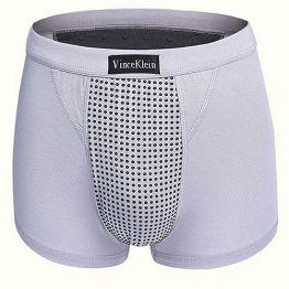 Магнитные боксеры размер S (для роста 160-180 см, вес 50-60 кг) серые Vince Klein
