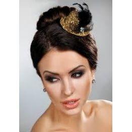 шляпка модель 12 золото (OS, золотой)