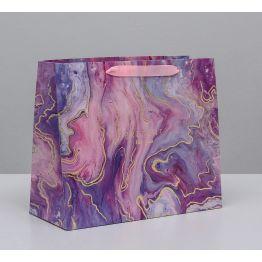 Пакет ламинированный горизонтальный Разводы, ML 27 × 23 × 11,5 см   4725155
