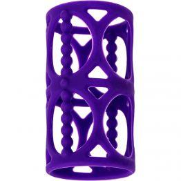 Насадка на пенис TOYFA A-Toys, Силикон, Фиолетовый, 7,5 см 768003