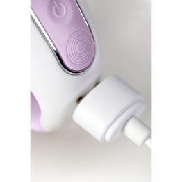 Нереалистичный вибратор Satisfyer Vibes Charming Smile, силикон, фиолетовый, 18,7 см.