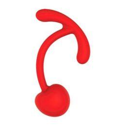 ШАРИК ВАГИНАЛЬНЫЙ D 33 мм, вес 42 г, цвет красный арт. ST-40136-3