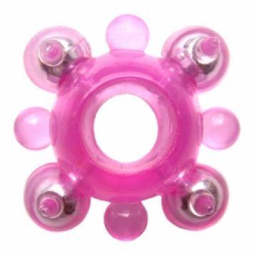 Кольцо розовое 888004